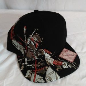 Original Snapback Star Wars Flat Bill Hat